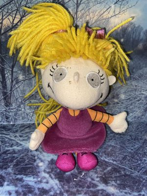 "Nickelodeon Rugrats Angelica Pickles 8"" plush doll for Sale in Bellflower, CA"