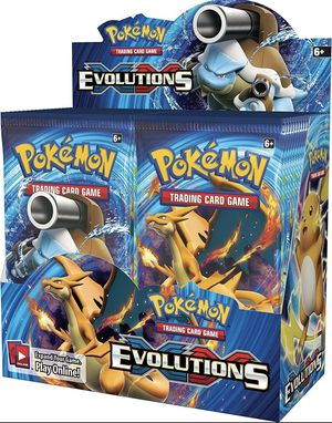 🔥📈 XY Evolutions Booster Box Factory Sealed POKEMON TCG 36 Booster Packs 🔥📈 for Sale in Haines City, FL