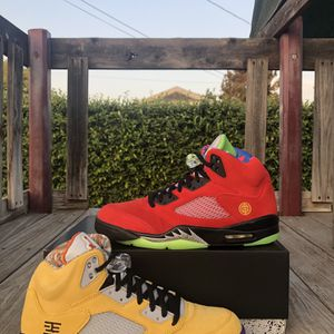"""Jordan 5 Retro """"What The"""" for Sale in West Covina, CA"""