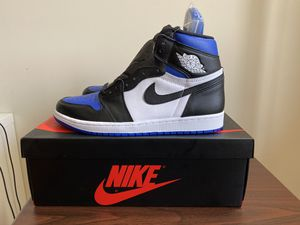 Air Jordan 1 Royal Toes US size 10 DS(deadstock) Brand New OG ALL for Sale in Queens, NY