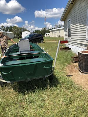 Jon Boat with trailer for Sale in Statesboro, GA