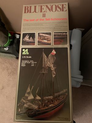 Bluenose II schooner boat model for Sale in Lynn, MA