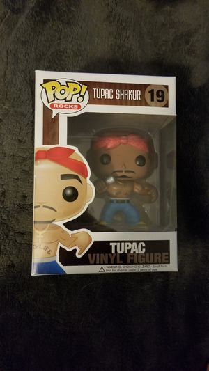Funko Pop! Tupac #19 No Eyebrows Variant - Super Rare Grail!! for Sale in Sunnyvale, CA