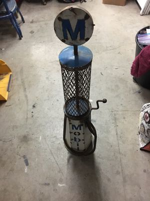 Mobil Small Gas Pump for Sale in Manteca, CA