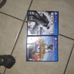 Ps4 games PubG and Watchdogs for Sale in Phoenix, AZ