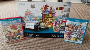 Nintendo Wii U Super Mairo 3D World Deluxe Edition for Sale in Pompano Beach, FL