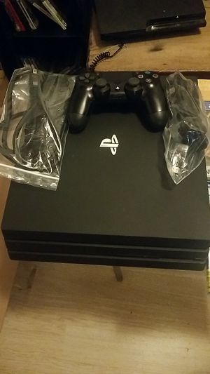PS4 Sony PlayStation pro 1tb with 4 games for Sale in Walnut Creek, CA