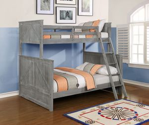 ☀️🥵🤑 1018 SUMMER SALE CLEARANCE☀️🥵🤑 Mission Dark Twin/Full Bunk Bed JULY 2020 SALE FAST DELIVERY CHARLOTTE AREA 🚚🔥🔥***buysmart and SAVE 💰!!!! for Sale in Charlotte, NC