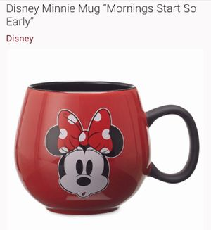 New Disney Minnie Mug Cup with Rubber Grip Handle for Sale in Spring, TX