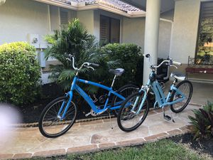 Like new, hardly ever used, TREK his and hers bicycles. for Sale in Boca Raton, FL
