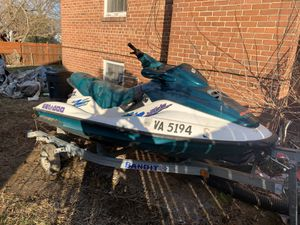 Jet ski for sale with trailer for Sale in Springfield, VA