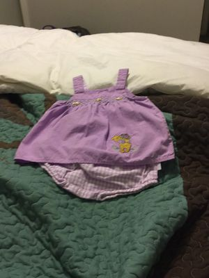Disney Winnie Pooh baby girl dress set for Sale in Hurst, TX