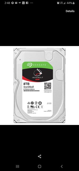 Seagate internal 8tb desktop harddrive. for Sale in Spokane, WA