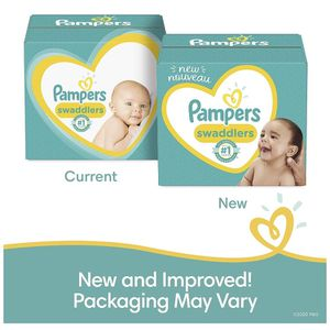 Baby Diapers Newborn/Size 0 (< 10 lb), 120 Count - Pampers Swaddlers, Giant Pack (Packaging May Vary) for Sale in Chula Vista, CA