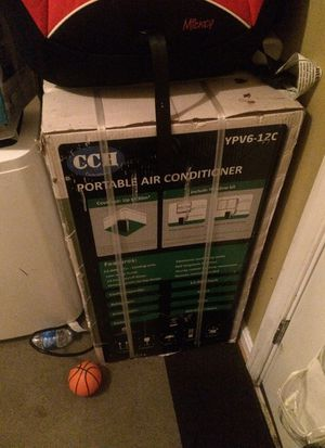 New Cch portable air conditioner 12000 btu for Sale in Capitol Heights, MD