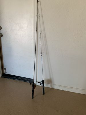 2 fishing Rods @ $ 20 each for Sale in Peoria, AZ