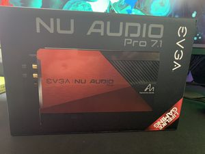EVGA NU Audio Pro 7.1 for Sale in Rosemead, CA