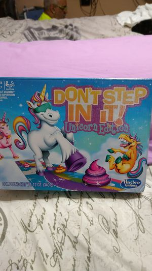 Hasbro Unicorn Edition Don't Step In It for Sale in Hialeah, FL