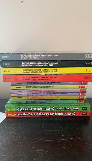 12 Captain Underpants Novels for Sale in St. Louis, MO