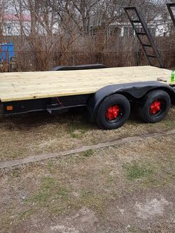 14ft Dual Axle With 12,000 Lb Winch And Ramps for Sale in Shelbyville,  IN
