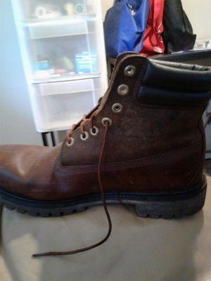 Men's timberland steel toe waterproof work boots for Sale in Walled Lake, MI