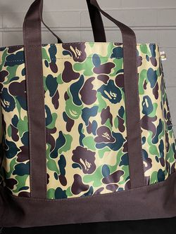 The Bathing Ape Bape Neon Off White Supreme Study Tote Shoulder Handbag Carry for Sale in Covina,  CA