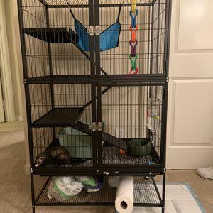 Three Floor Ferret Cage for Sale in Virginia Beach, VA