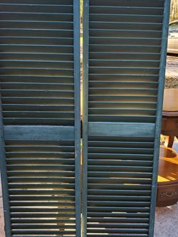 """Vintage Green Shutters Farmhouse 58"""" Tall for Sale in Oxford,  FL"""