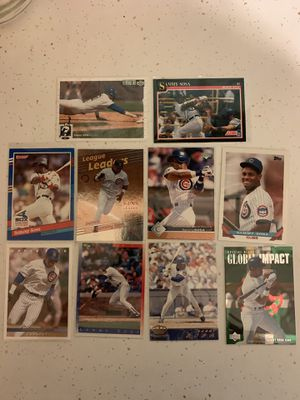 10 Sammy Sosa Baseball Cards for Sale in Washington, PA
