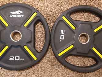 Olympic Weights Plates 2x 44lb for Sale in Sacramento,  CA