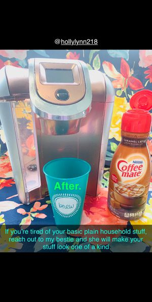 Painted rose gold Keurig for Sale in Murfreesboro, TN