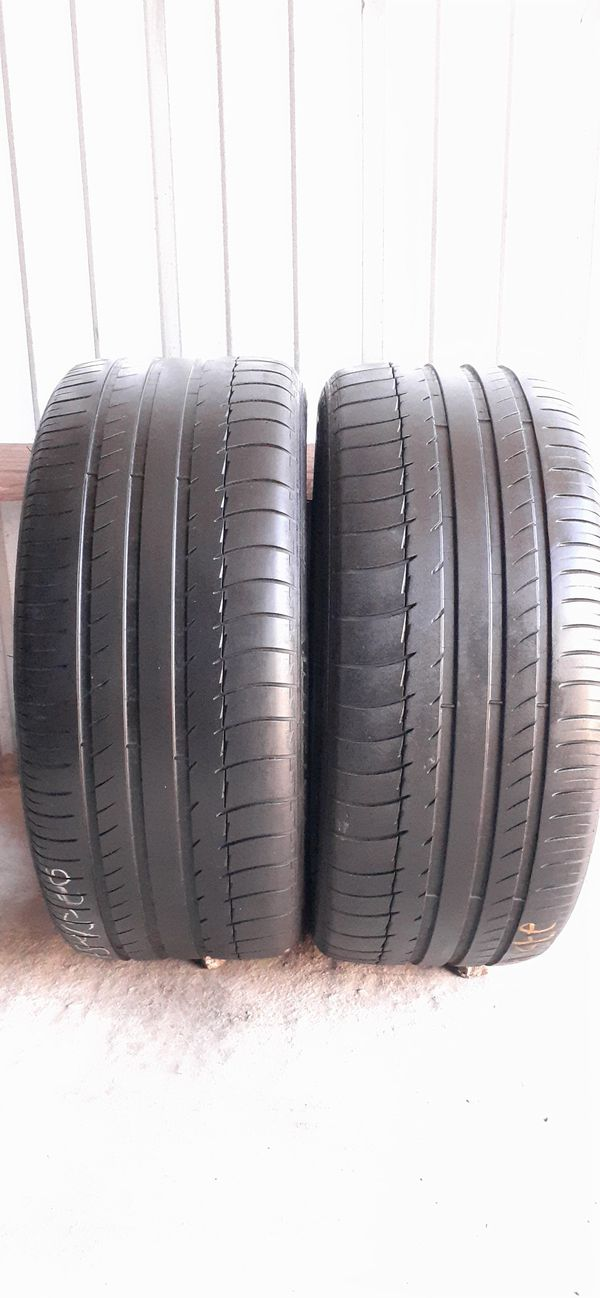 2 tires 275 45 20 Michelin low pro