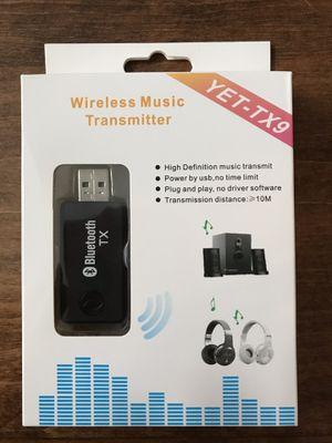 Wireless Headphone Bluetooth Transmitter for Sale in Elkridge, MD