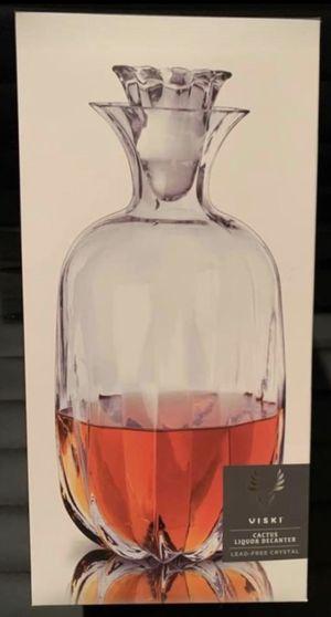 Viski Cactus Liquor Decanter for Sale in Edison, NJ