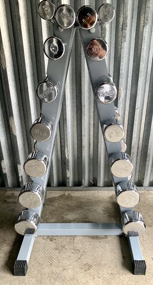 chrome Dumbbells for Sale in Kent, WA