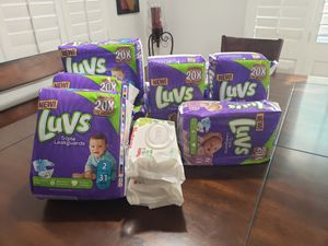 Luvs diapers for Sale in Palmdale, CA