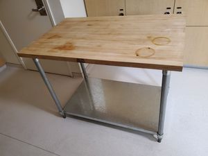 Boos Board butcher block, kitchen work table for Sale in Irvine, CA