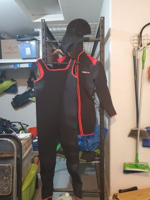 Wet Suit with Jacket and Hood for Sale in Phoenix, AZ