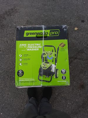 Greenworks pro 2300 psi pressure washer for Sale in Bonney Lake, WA