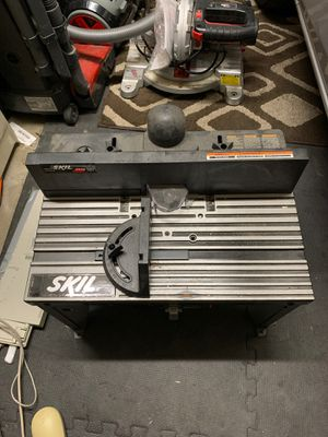 Skill Router Table with Router. No bits. for Sale in Moreno Valley, CA