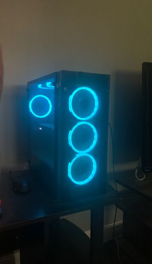 Gaming PC with optional monitor for Sale in Curran, IL