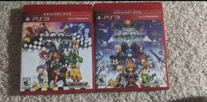 Kingdom Hearts 1.5 and 2.5 Remix (PS3) for Sale in Cleveland, OH