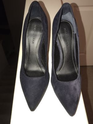 kendall + kylie blue suede heels for Sale in Houston, TX