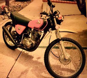 1975 Honda XL175 Enduro Vintage Motorcycle - Dana Point for Sale in Laguna Niguel, CA