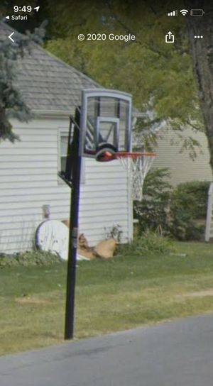 In grown basketball hoop for Sale in Bloomingdale, IL