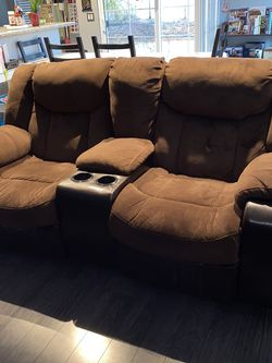 Ashley Brown Microfiber Couches for Sale in San Diego,  CA