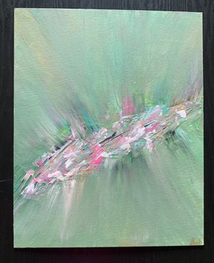 Hand Painted Abstract Acrylic Painting for Sale in Fairfax, VA