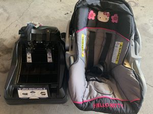 Car Seat infant Hello kitty for Sale in Temecula, CA