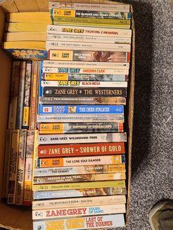 60 Zane Grey books for Sale in Brighton,  CO