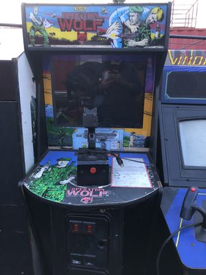 Taito Operation Wolf arcade game for Sale in Chula Vista, CA